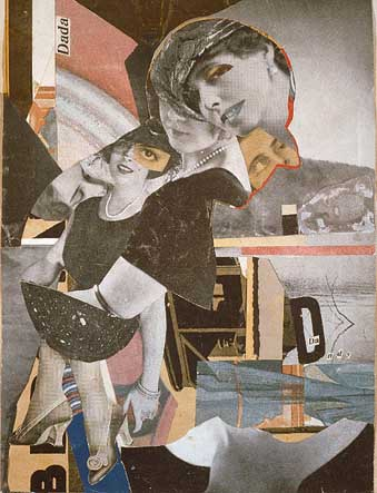 Hannah Hšch. Da Dandy, 1919 Photomontage, 30 x 23 cm Collection particulire Dr © Adagp, Paris 2005